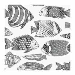Carta da parati pesci EC8200